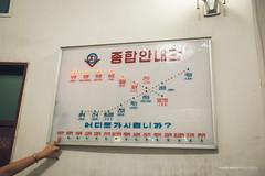 Pyongyang Metro Map (reubenteo) Tags: subway metro communist communism kimjongil socialism northkorea pyongyang dprk kimilsung kimjongun