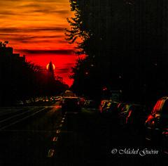 Henge Montral (MichelGurin) Tags: sunset canada nikon exterior qc coucherdesoleil 2016 nikon2470 montral nikcollection qubec  extrieur michelgurin tousdroitsrservsallrightsreserved lightoomcc httpwwwsunearthtoolscomdptoolspossunphplangfr