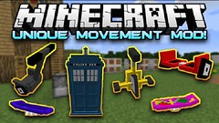 Unique Movement Mod (Teen Thng Tn) Tags: game 3d minecraft