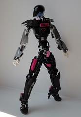 It's me! Mettaton! (Tails-N-Doll) Tags: lego bionicle undertale robot mettaton ex