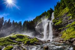 Cascade du Rouget - Sixt Fer  Cheval - 01 (glassonlaurent) Tags: france montagne cheval eau  du savoie paysage cascade fer haute rouget sixt