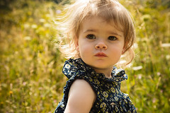 Wrap-Around Light (busby144) Tags: astonrowantnaturereserve toddler littlegirl lateafternoonsunshine longgrass backlit tears