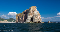 the other side (maureen.elliott) Tags: perce quebec rockform gulfofstlawrence water waves boatride nature outdoors