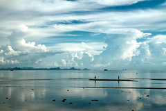 BAN MAKHAM     Koh Samui, Thailand (ernesto teruya) Tags: sky kohsamui thailand clouds sea