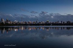 Goodnight City (CVerwaal) Tags: centralpark reservoir skyline sunset ricohgr nyc