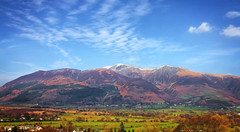 Skidaw (Caleb4ever) Tags: caleb4ever skidaw mountain lakes lakedistrict englishlakes cumbria scene scenic landscape grass trees sky clouds cloudformations blue snow snowcapped england