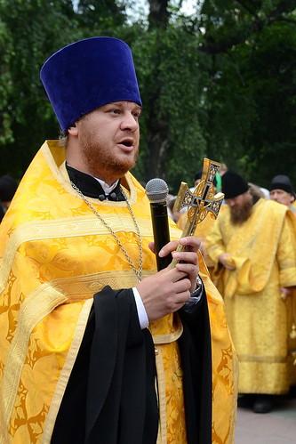 Руководитель молодёжного епархиального отдела  иерей Иоанн Кизюн-Войтович