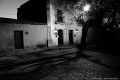 The Shadows grow longer (danielkoehlersphotos) Tags: shadow schatten night nighttime light gloaming dusk blackandwhite bw uruguay latinamerica evening stroll coloniadelsacramento outdoor einfarbig monochrome roaming dark darkness danielkoehlersphotos danielkhler travel explore photography
