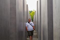 The Man himself (crsye) Tags: berlin kurfrstendamm brandenburger tor judendenkmal siegessule tiergarten potsdamer platz