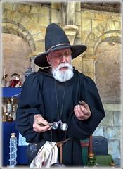 Alchemist (bob the bolder) Tags: uk northumberland alnwick castle magus alchemist mandrake