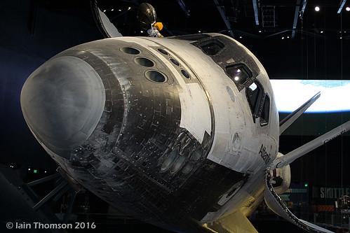 OV-104 - Atlantis  -  Rockwell Shuttle Orbiter