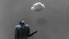 E Che Grande Questo Tempo Che Solitudine, Che Bella Compagnia (○gus○) Tags: nikond750 240700mm ƒ28 1100 nuvola cloud sergiozanni scultura statua sculpture statue terracotta lanuvola thecloud ʂ
