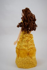 2016 Singing Belle 16 Inch Doll - US Disney Store Purchase - Belle Deboxed - Standing - Full Right Rear View (drj1828) Tags: us disneystore belle beautyandthebeast singing 16inch 16 lightup interactive 2016 purchase deboxed standing