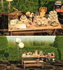 #355 Picnic Date? (|| Bonnii Hendes || Blogger || Decorator) Tags: n4rs dust bunny teefy mishmish aria tres blah pilot