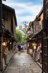 Gion Shirakawa (Hiro_A) Tags: kyoto gion shirakawa street restaurant alley sightseeing sigma 1770mm 1770 nikon d7200