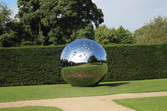 IMG_4697 (alicemaryfox) Tags: yorkshire sculpture park kaws henri moore cattle sheep art discovery water bridge stately home national