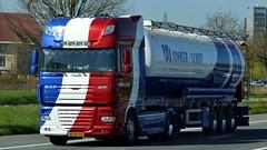 NL - Jonker & Schut DAF XF 105.460 SSC (BonsaiTruck) Tags: lag jonker schut daf xf 105 lkw lastwagen lastzug silozug truck trucks lorry lorries camion silo bulk citerne powdertank