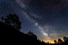 Lost in galaxy #I (Dream Rebellion) Tags: nightscape night dark milky way forest black tree sky cloud wide nuit paysage foret voie lacte nature landscape ciel etoile star mont aiguille vercors