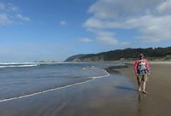 sunday sun's return (carolyn_in_oregon) Tags: cannonbeach oregon beach pacificocean coast al allie jacob