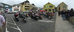 Doolin Harley Fest Charity Run - September 2016 - Lahinch, County Clare. (firehouse.ie) Tags: motorbikes motorbike bikers motorcycles motorcycle panorama 2016 mcc mc bike bikes hog hogs ireland lahinch doolin festival fest harleyfest davidson harley