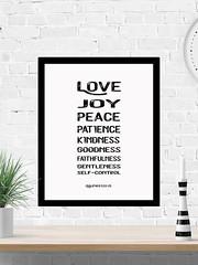 Love Joy Peace Galatians 5:22 (PrintArtPosters) Tags: bible galatians love christian scripture design etsy printartposters art posters prints decor gift print pictures artwork wall ideas wallart printable
