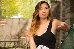 Thao (austinspace) Tags: woman portrait spokane washington roberts mansion yard dress summer secretgarden