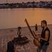 The musician & the lens-man at the Pushkar Lake!