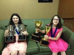 The Safko Girls and Their Trophies