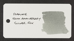 Diamine 150th Anniversary Silver Fox - Word Card