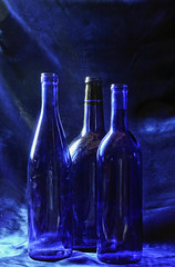 Blue On Blue #22. (Crick3) Tags: blue bottles cheers chuck bluevelvet cheers2 chuck2 cheers3 cheers4 cheers5 cheers6 cheers7