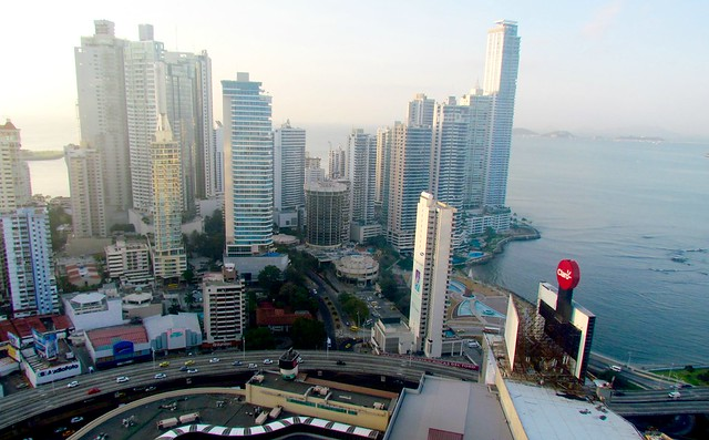 View from Hotel Hard Rock,Panama