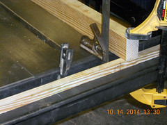 Hank Kennedy table saw project - diy guide rails 18