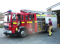 Volvo FL NU52RGX North Yorkshire Fire RS (seacoaler) Tags: truck fire engine tender appliance brigade