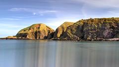 Stonehaven Bay (Hydodra) Tags: seascape rock canon coast scotland aberdeenshire hill coastal northsea stonehaven ef24105mm eos7d