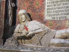 El Doncel, tomb sculpture in Sigüenza Cathedral, Spain (Paul McClure DC) Tags: sculpture españa spain cathedral historic castillalamancha castile sigüenza june2014