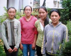 Pasang Futi, Pasang Lhamu, Tashi & Ngawang