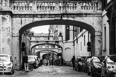 life as it ever was (lunaryuna (off to Iceland for 2 weeks)) Tags: bw italy rome history monochrome architecture blackwhite candid streetphotography streetlife streetscene lunaryuna unchanged homourbe