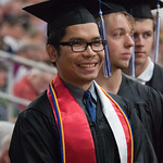 "<b>Commencement 2015</b><br/> Commencement 2015. May 24, 2015. Photo by Kate Knepprath<a href=""http://farm9.static.flickr.com/8798/17877687919_0d8b5aae2d_o.jpg"" title=""High res"">∝</a>"