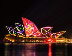 Vivid Opera House (Rogan Templer) Tags: longexposure nightphotography night canon photography sydney vivid australia slowshutter operahouse 600d vividsydney rogantempler rogantemplerphotography