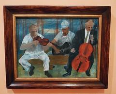 Ben Shahn : Four Piece Orchestra, 1944. (neppanen) Tags: madrid art museum painting spain ben orchestra maalaus taide shahn orkesteri benshahn espanja thyssenbornemisza kuvataide thyssenbornemiszamuseum discounterintelligence maalaustaide sampen