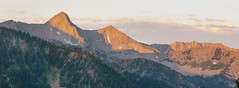 Touch of Dawn (tomkellyphoto) Tags: usa mountains nature sunrise utah hiking alta littlecottonwoodcanyon pfeifferhorn mountainpeak lonepeakwilderness alpineterrain cardiffpass