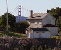 A study in physics (Michael Dunn~!) Tags: bridge house goldengatebridge angelisland suspensionbridge photowalking photowalking20110108