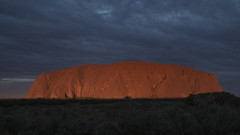 _DSC9865 (slackest2) Tags: uluru ayres rock northern territory red scrub trees sky