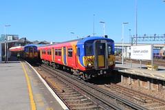 5712 (matty10120) Tags: west bus train south rail railway trains junction class clapham 455 transprot
