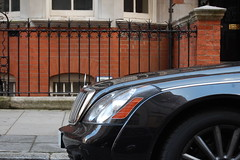 Maybach 62 S Zeppelin (D's Carspotting) Tags: black london l1 united zeppelin kingdom s 62 maybach 20110617