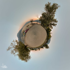 Beach Planet (Ukelens) Tags: ukelens schweiz suisse svizzera swiss switzerland tessin ticino tenero littleplanet little planet kleiner 360 degree shadow schatten wasser water see lake lago maggiore lagomaggiore langensee berge berg mountain mountains pano panorama longexpo longexposure langzeitbelichtung