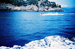 Jetski (Stephen Dowling) Tags: 35mm xpro travel italy agfact100precisa lomography film cosinacx2 summer