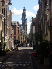 Westerkerk (Quetzalcoatl002) Tags: westerkerk tower bloemstraat citycenter amsterdam street church kerktoren