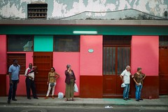 Cuba. Bus Window Shot (6) (H.L.Tam) Tags: documentary cubasketchbook cuban street photodocumentary cuba panasonicgm5 cubanfaces sketchbook streetphotography buswindowshot