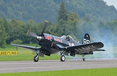 and go (picturesbywalther) Tags: f4u4 corsair takeoff start aviatik fliegerei mollis zigermeet oldtimerflugtage flug flight